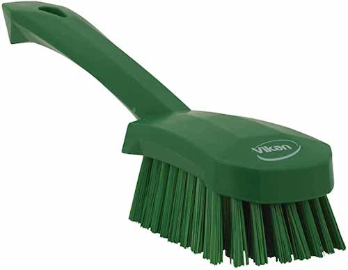 Handled Scrub Brush Green