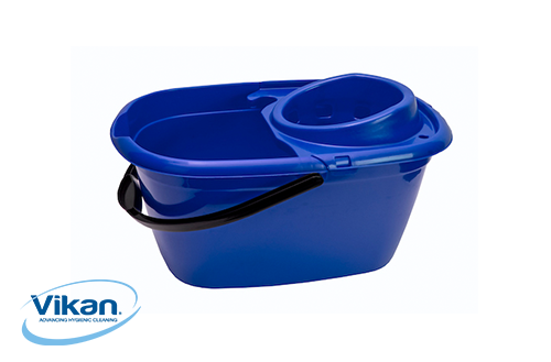 Vikan mop bucket with strainer