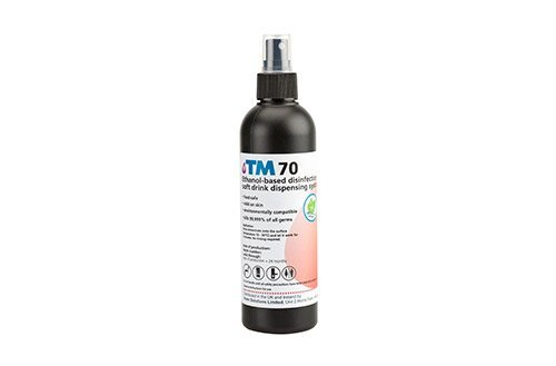 TM70 Food-Safe Sanitizing Spray
