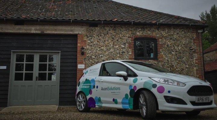 avani solutions branded car