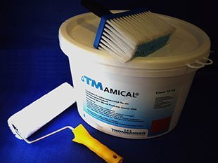 Amical anti fungal non toxic cellar paint for clean mold free beer cellars avani solutions for Fungal wash for exterior walls