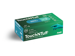 Image of Nitrile TouchNTuff Safety Gloves
